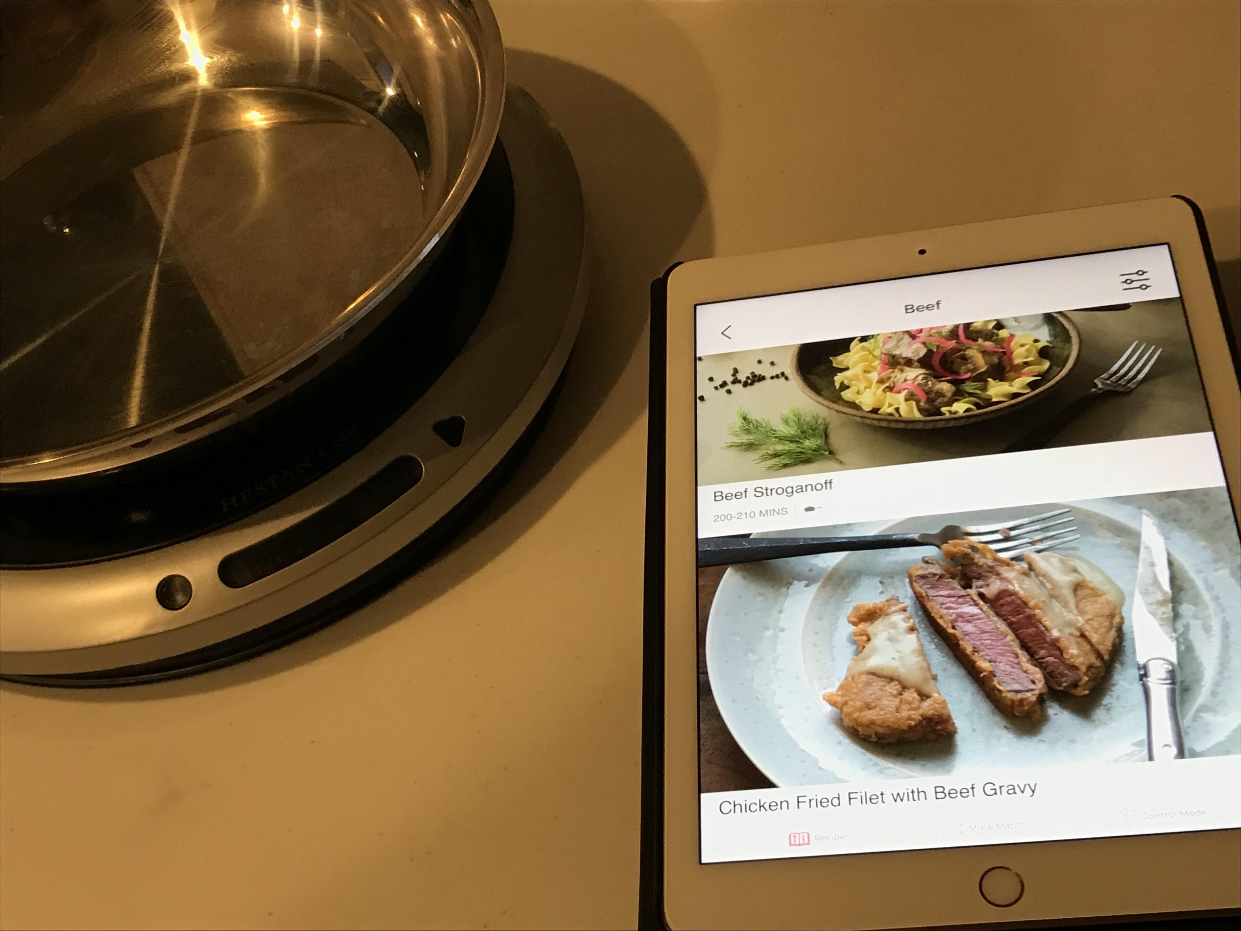日本発売前の最新 スマート家電 : IOT家電 を オープンハウス、ソフトバンクの「MASACASA!」で体験 料理